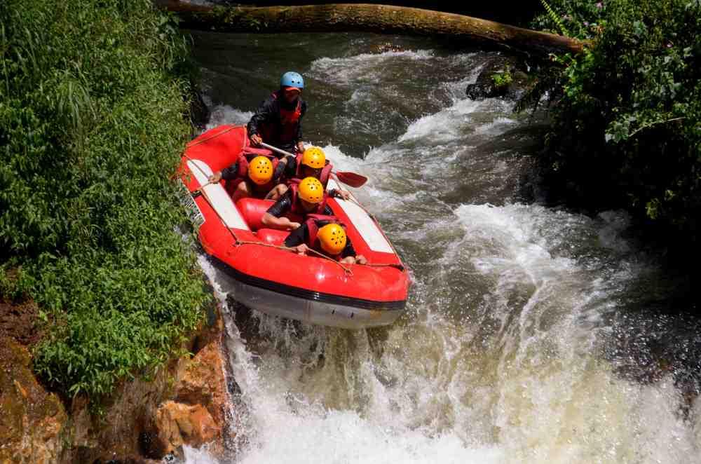 body rafting Bandung