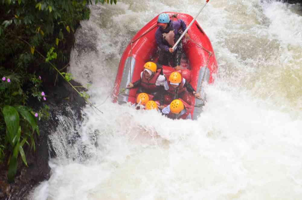 harga rafting Pangalengan