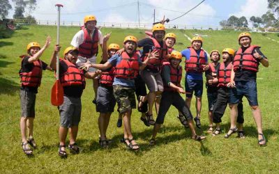 Catatan Petualangan Paket Rafting dan Paintball di Bandung oleh Graha BMW