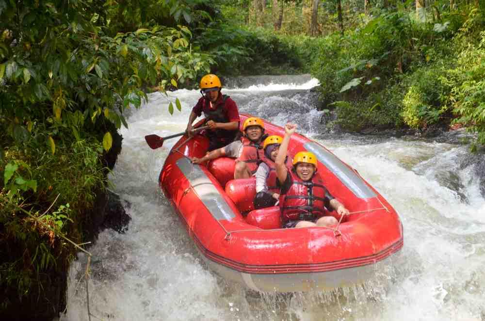 wisata arung jeram Bandung