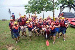 rafting di Pangalengan