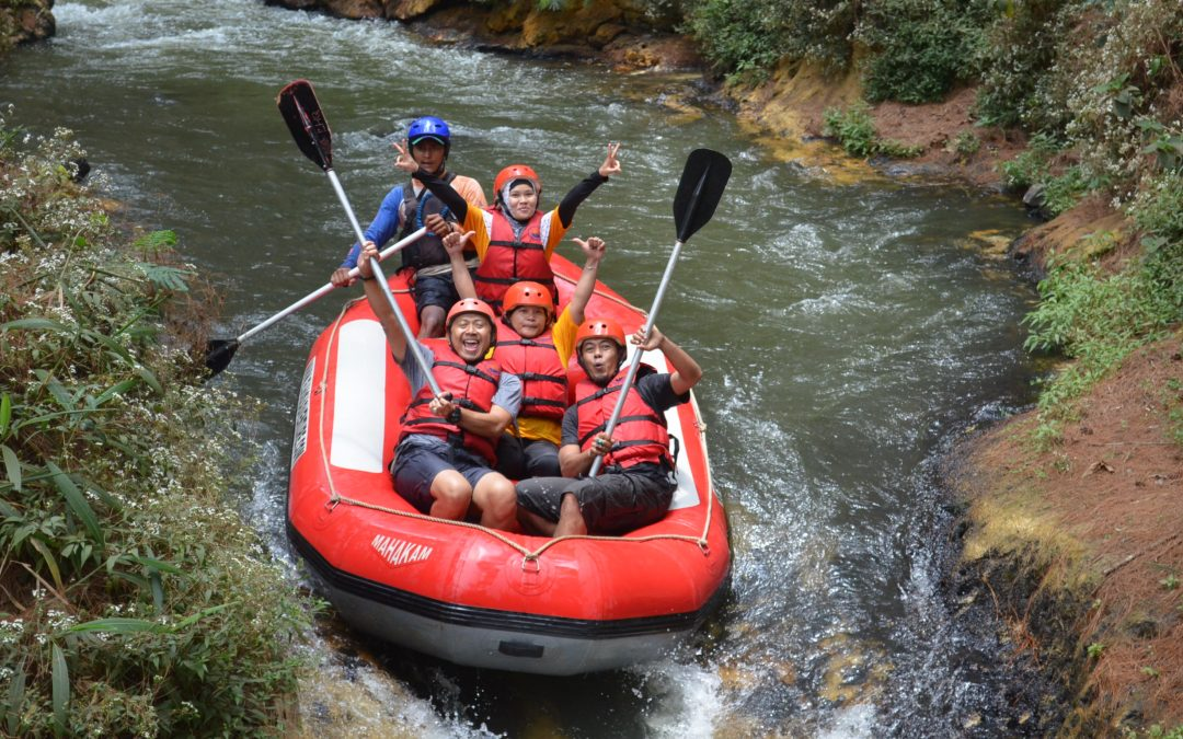 Tempat Wisata Rafting Pangalengan Bandung